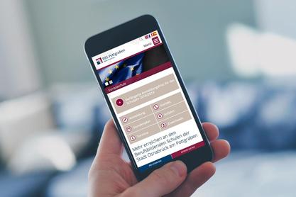 Mobile Ansicht der Website BBS Pottgraben