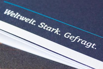 Weltweit. Stark. Gefragt. – Diese drei Worte bringen die Eigenschaften der Technologieregion Dümmer-See auf den Punkt