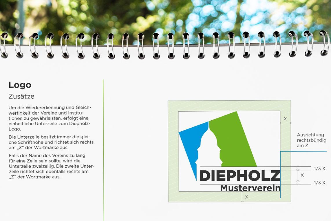 Logodefinition der Stadt Diepholz