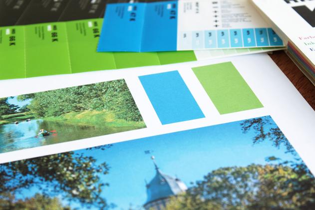 Farbauswahl des Corporate Designs beruht auf den Einflüssen der Umgebung