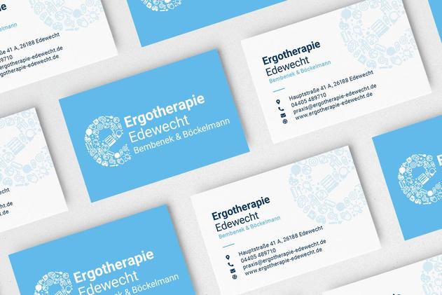 Visitenkarten der Ergotherapie