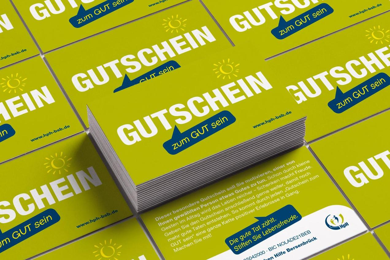 """Gutschein zum """"Gut sein"""" der HpH Bersenbrück"""